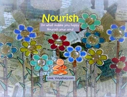 nourish vidya sury