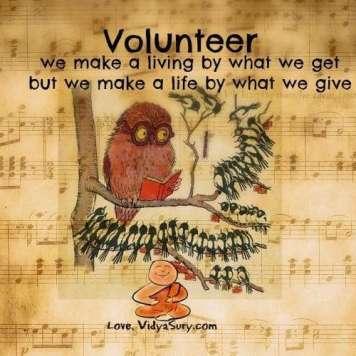 volunteer vidya sury