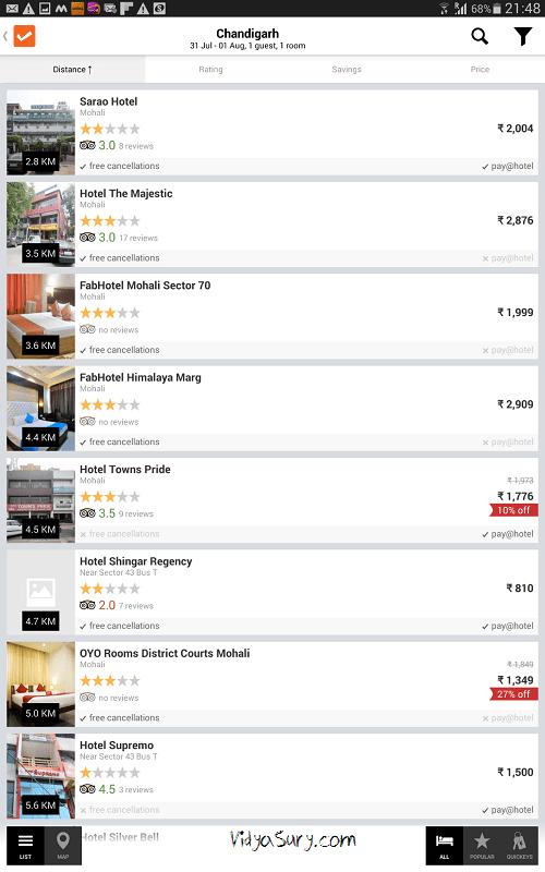 cleartrip app vidya sury