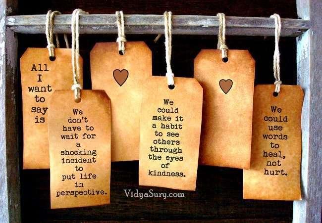Kindness is a language Vidya Sury