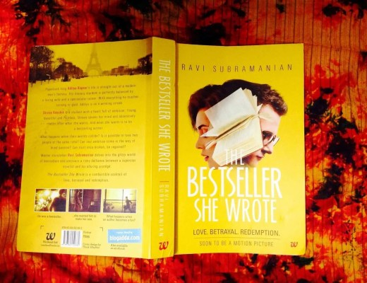 The bestseller she wrote - book review, Vidya Sury
