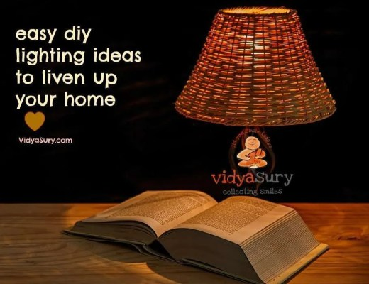 DIY lighting ideas vidya sury