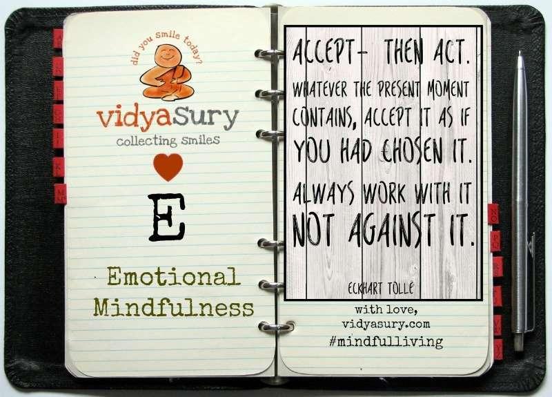 vidya sury emotional mindfulness