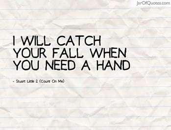 I will catch your fall Vidya Sury