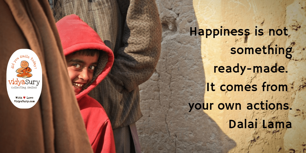 Ever wondered what is the secret of happiness Vidya Sury