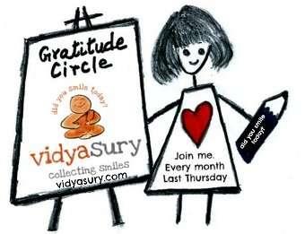 Gratitude Circle Blog hop, Vidya Sury