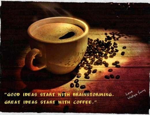 Coffee Cherished Blogfest Vidya Sury