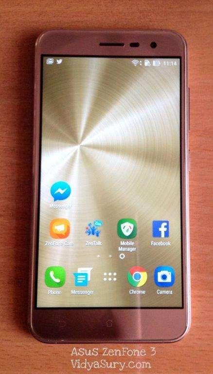 Asus ZenFone 3 Review Vidya Sury