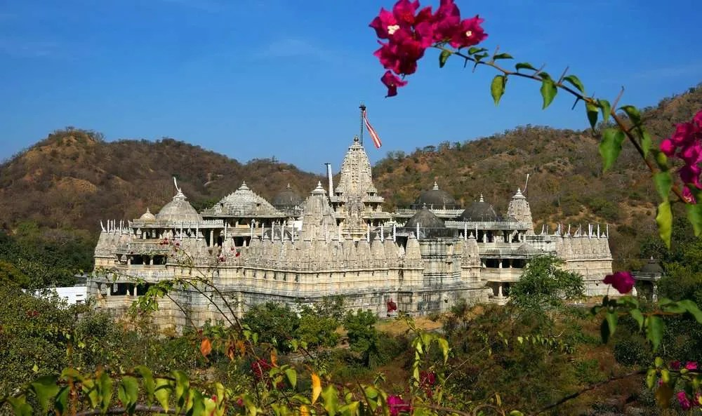 Jain temple Ranakpur near Udaipur #HaldighatiRun Vidya Sury