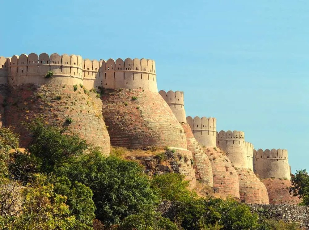 Kumbalgarh Fort Wall #HaldighatiRun Vidya Sury
