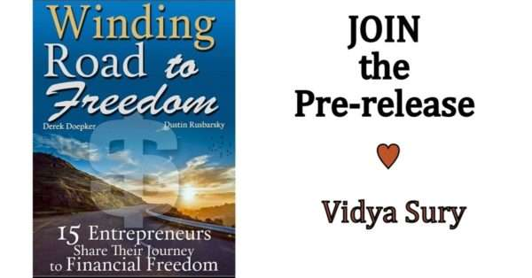 Vidya Sury Winding Road to Freedom