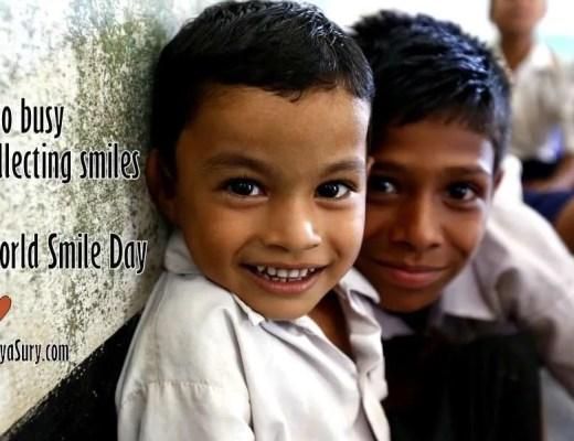 Too busy collecting smiles on world smile day