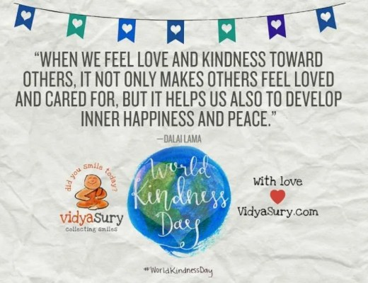 How to be a Kindness Ninja World Kindness Day Vidya Sury