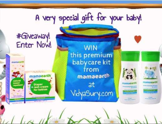 A special gift for your baby #MamaKnowsBest Vidya Sury