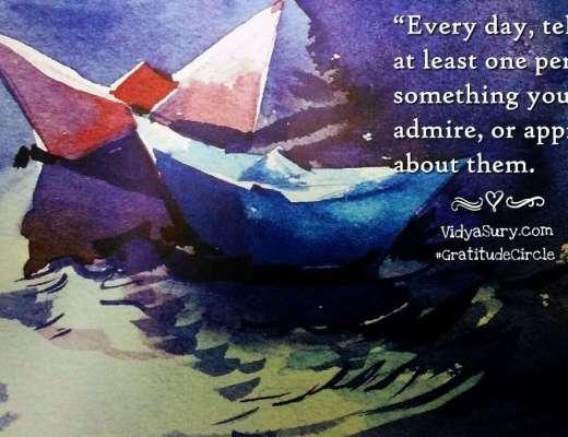 Looking Back Moving Forward in Gratitude Vidya Sury
