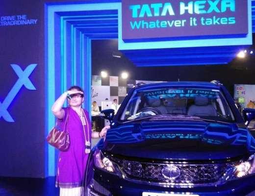 Tata HexaExperience Vidya Sury