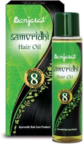 Banjaras Samvridhi Hair Oil and Hair Pack – review Vidya Sury (9)