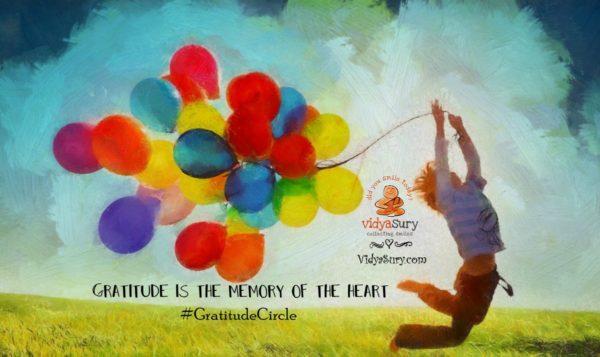 Gratitude Circle January 2017 Vidya Sury