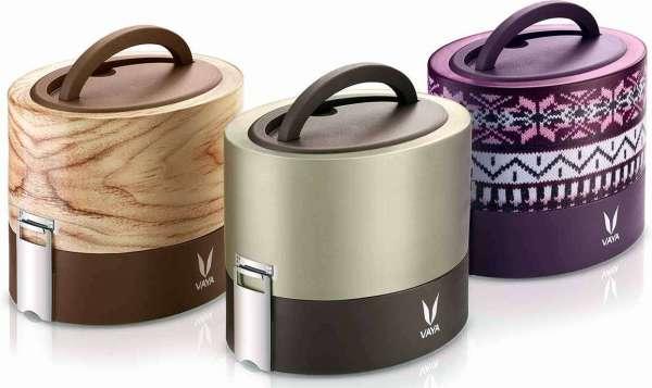 Vaya Tyffyn 600 ml premium #lunchbox #Review Vidya Sury
