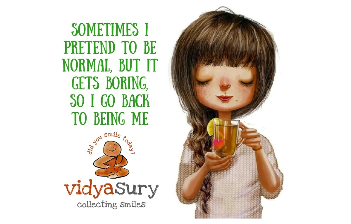 making my own normal gratitudecircle vidya sury collecting smiles
