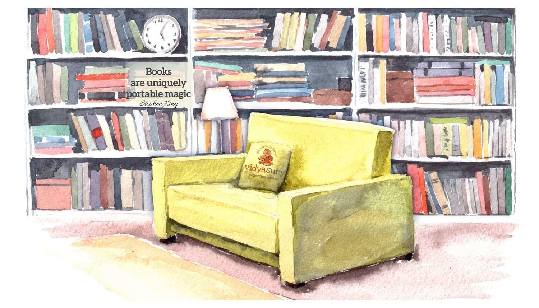 ... Portable Bookshelves Of Books Bookshelves And Nostalgic Memories Vidya  Sury ...