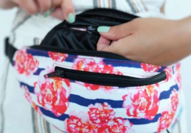 my fanny pack, my favorite travel accessory