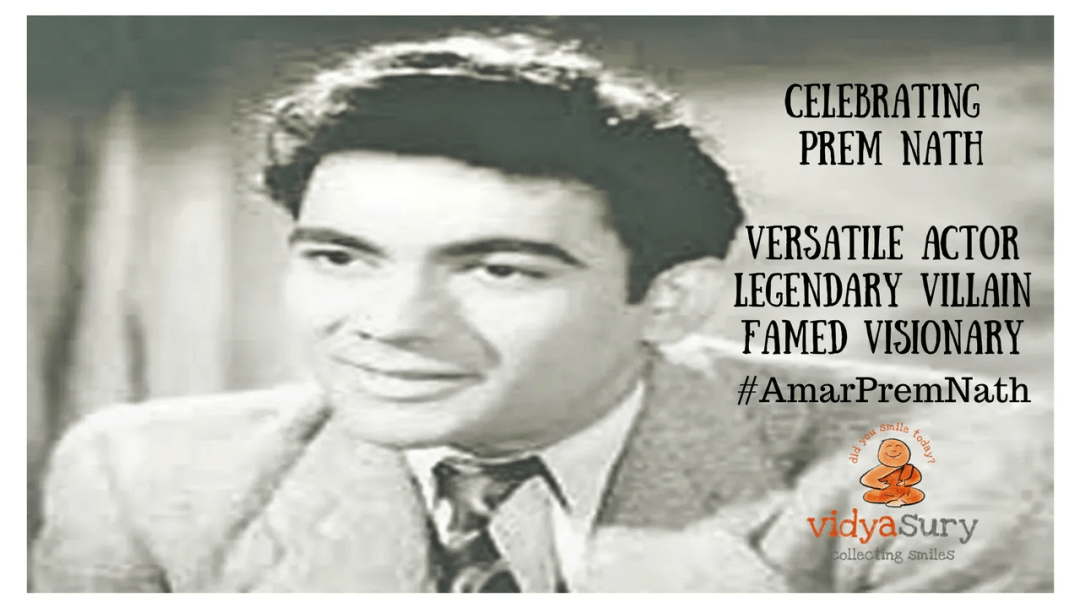 Zee Classic's tribute 'Prem Nath Film Festival' on Prem Nath's 25th death anniversary #AmarPremNath