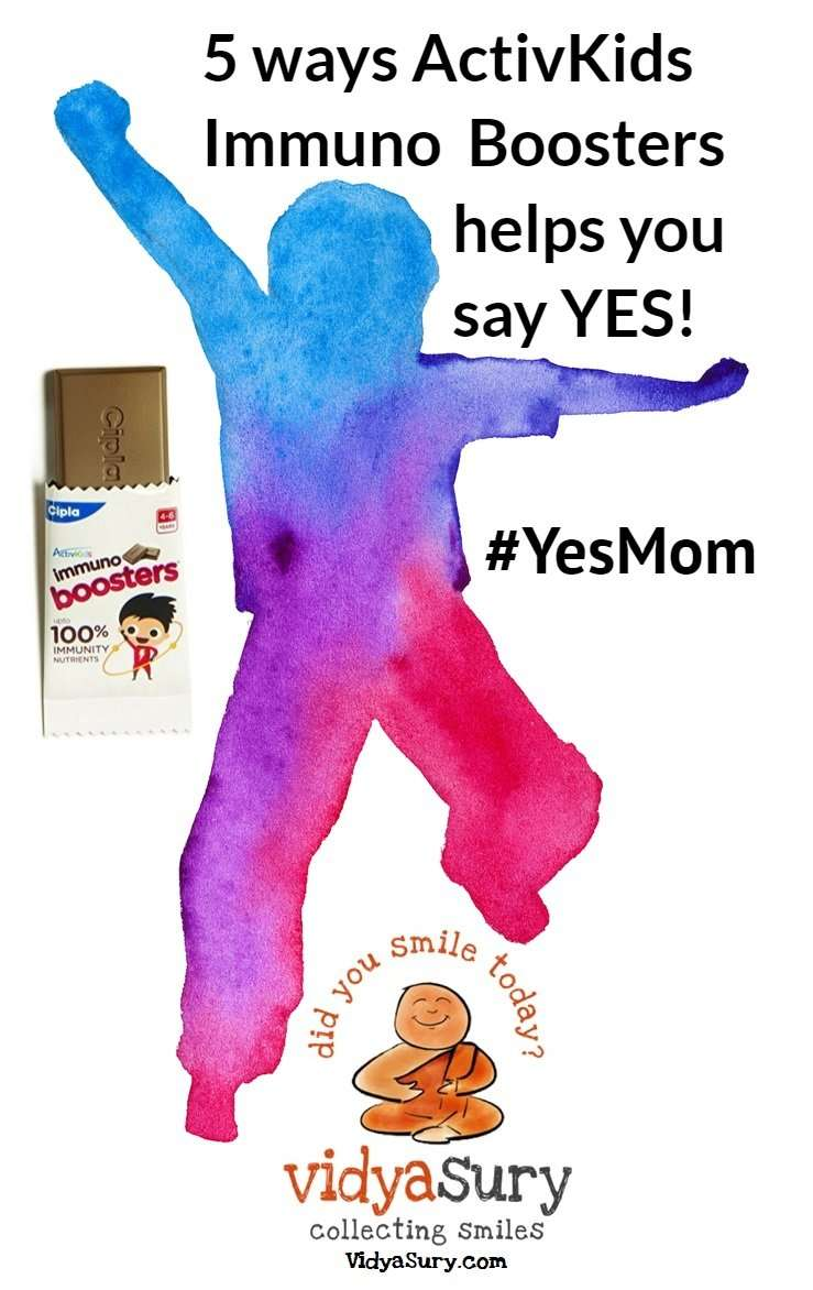 5 ways ActivKids Immuno Boosters helps you say YES! #YesMom #HealthyKids #KidsHealth #BoostImmunity