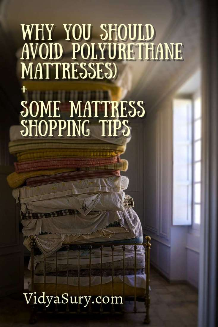 Why you should avoid polyurethane mattresses and some mattress shopping tips #tips #sleep