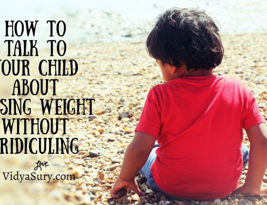 Maintaining a healthy weight is the foundation for long-term health for all ages, but especially for children. How to talk to our child about being overweight. #parenting #weightloss #healthykids #obesity