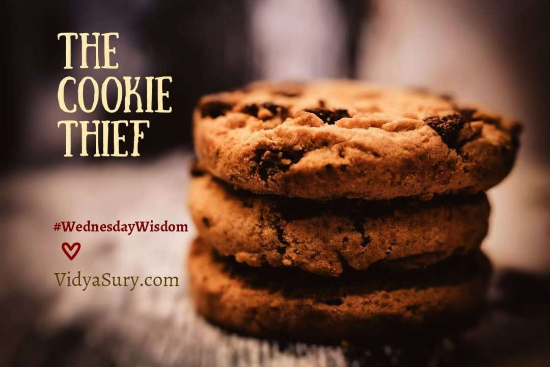 The Cookie Thief #WednesdayWisdom