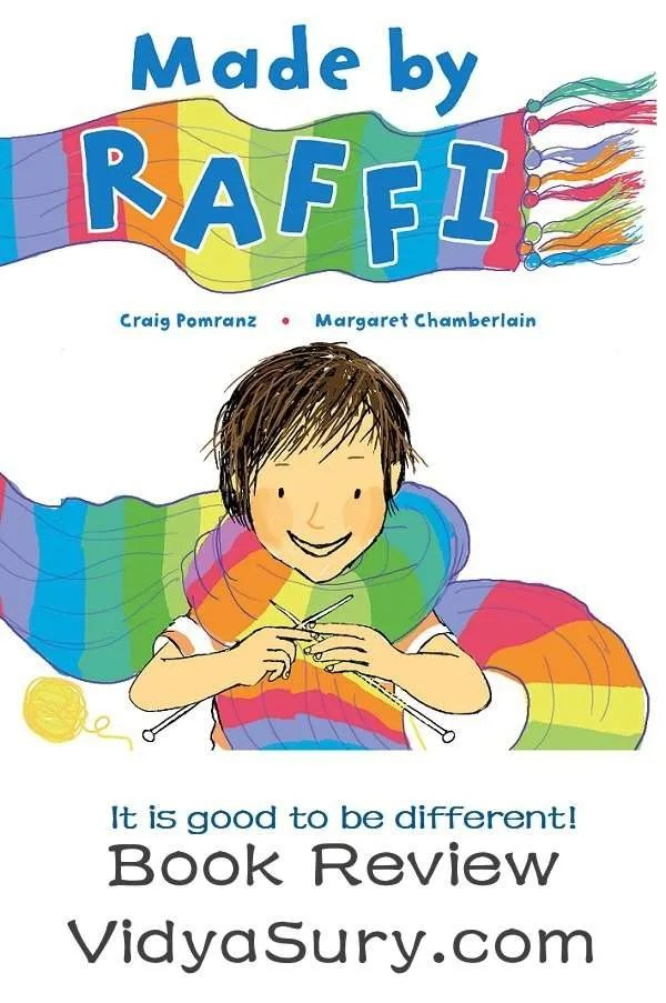 Made By Raffi #BookReview #ChildrensBook #atozchallenge