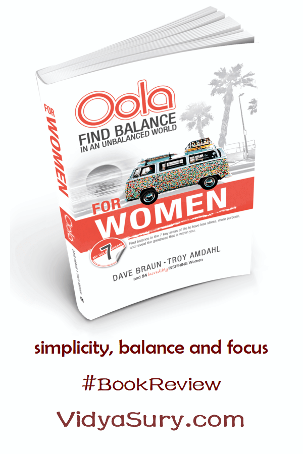 Oola for Women—How to Balance the 7 Key Areas of Life to Have Less Stress, More Purpose, and Reveal the Greatness within You #bookreview #mindfulness #atozchallenge