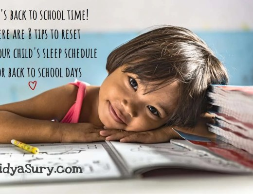 It is back to school time! Here are 8 tips that worked for me to reset my child's back to school sleep schedule! #BacktoSchool #Sleep #Kidshealth