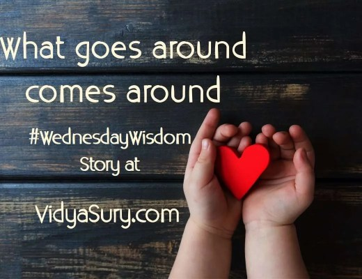 What goes around comes around #WednesdayWisdom #Mindfulness #Kindness