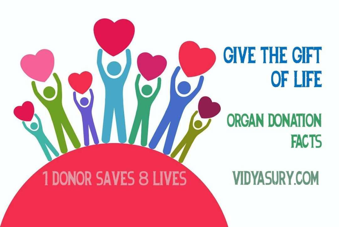 Organ Donation Day. Have you pledged your organs?