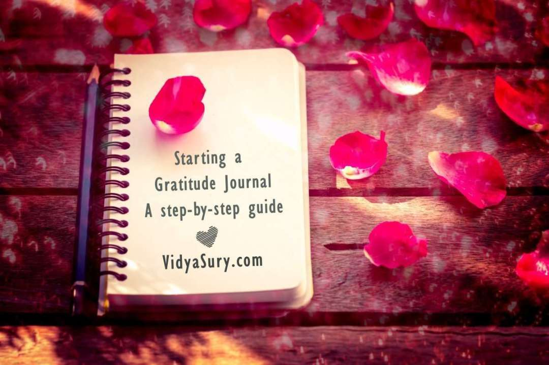 Starting a Gratitude Journal A step by step guide