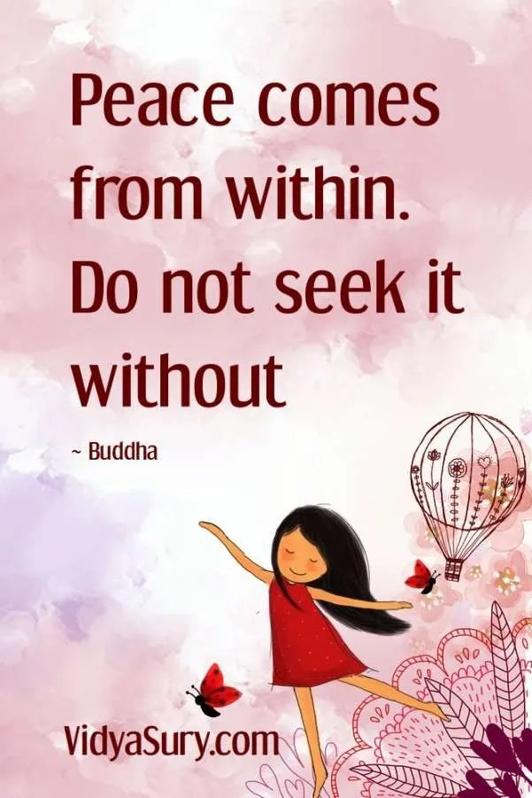 Peace comes from within. Do not seek it without. #inspirationalquotes #selflove #mindfulness