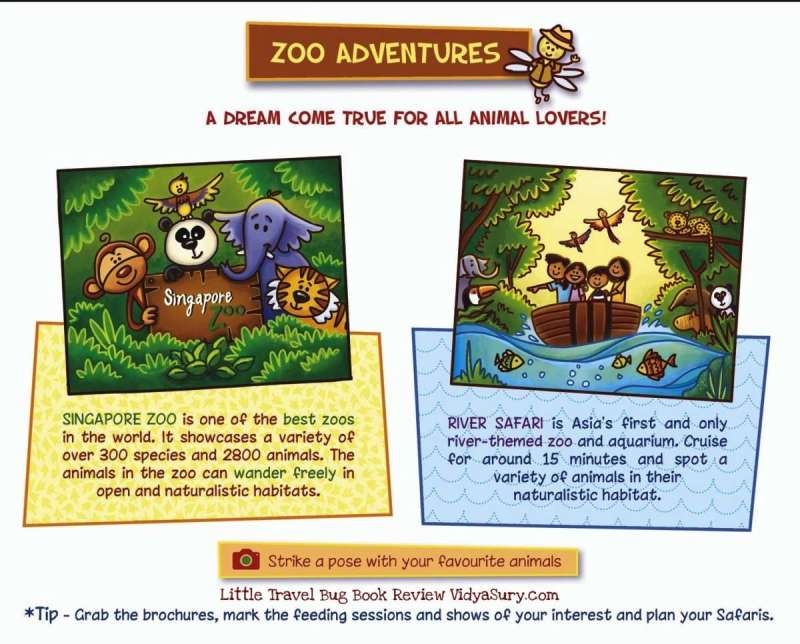 Zoo Little Travel Bug Singapore #BookReview #Travel #Childrensbooks