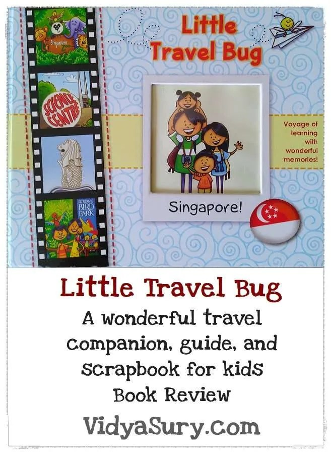 Little Travel Bug Singapore #BookReview #Travel #Childrensbooks