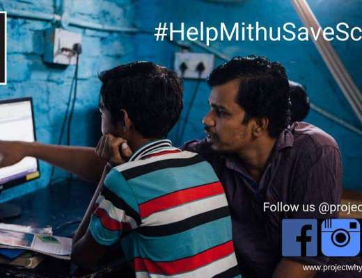 Help Mithu Save School Project WHY Delhi