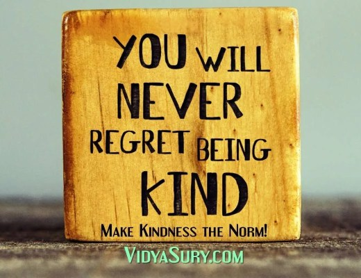 Make Kindness the norm You will never regret being kind #RandomActsOfKindness