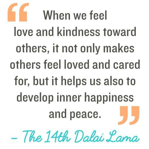 Feel love and kindness towards others. Make Kindness The Norm 100 Random Acts of Kindness