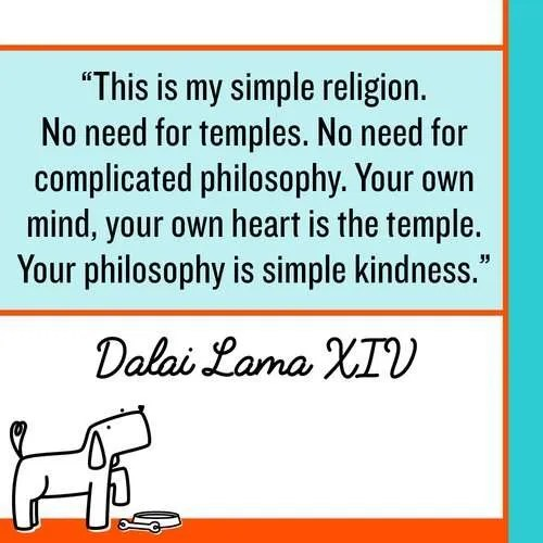 Kindness is my religion. Make Kindness The Norm 100 Random Acts of Kindness