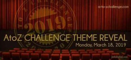 AtoZChallenge Theme Reveal