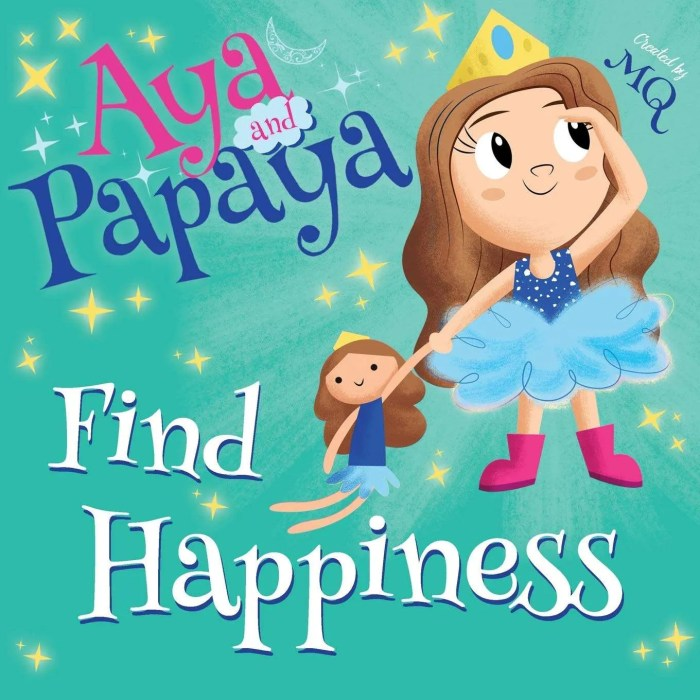 Aya and Papaya find Happiness Book Review