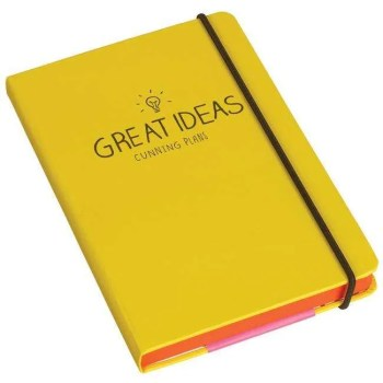 organize your ideas notebook