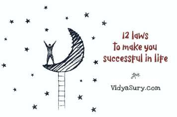 12 laws of success to live the life you dream of