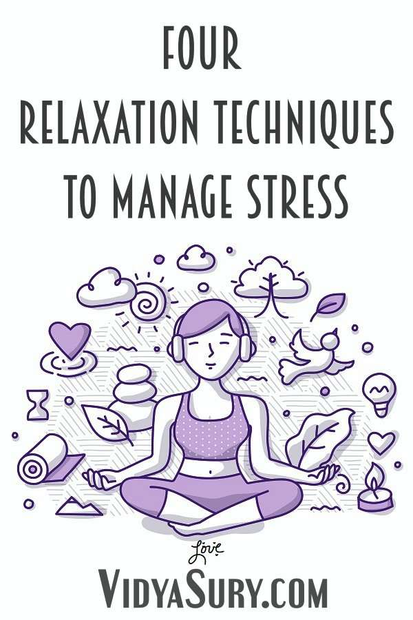 Four relaxation techniques to manage stress