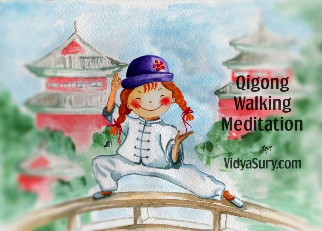 Qigong walking meditation for kids and grownups